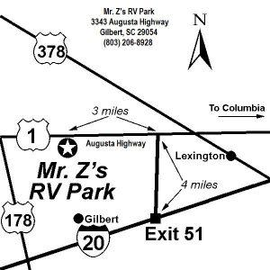 Mr Z's map